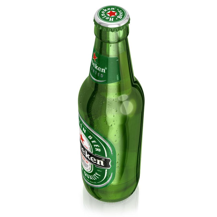 Heineken Bottle royalty-free 3d model - Preview no. 7