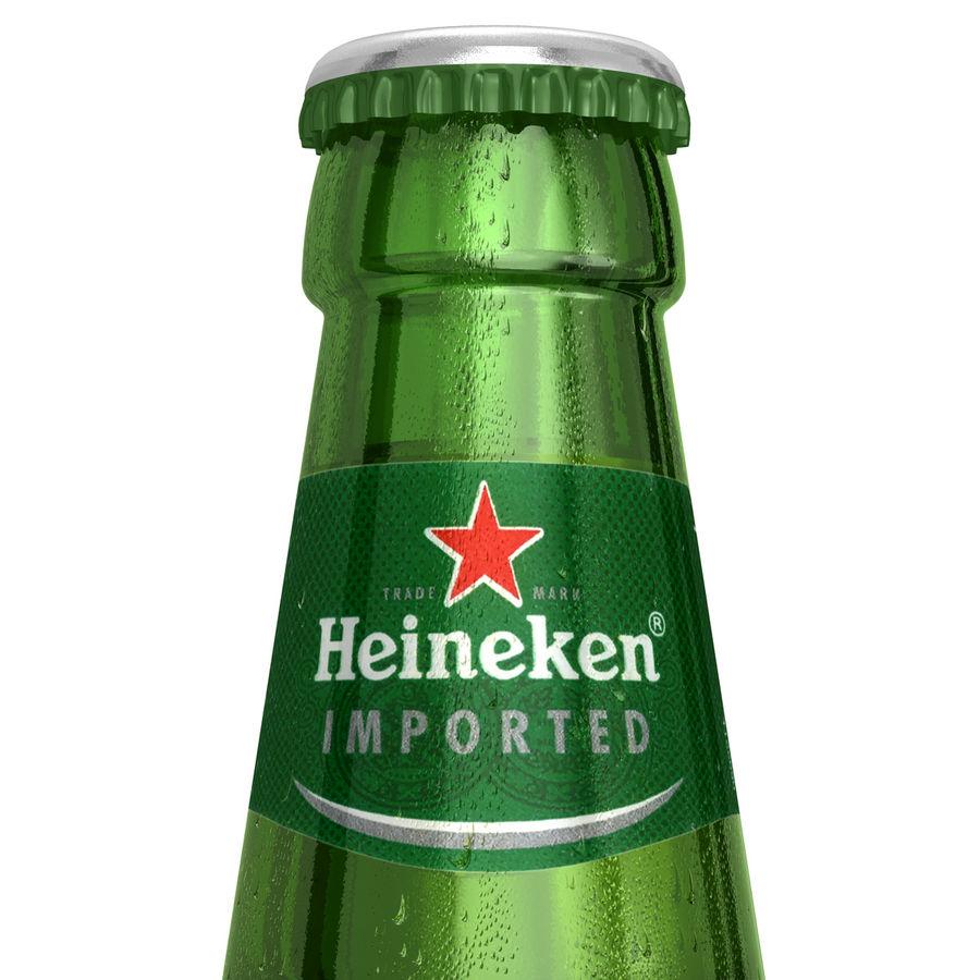 Heineken Bottle royalty-free 3d model - Preview no. 2