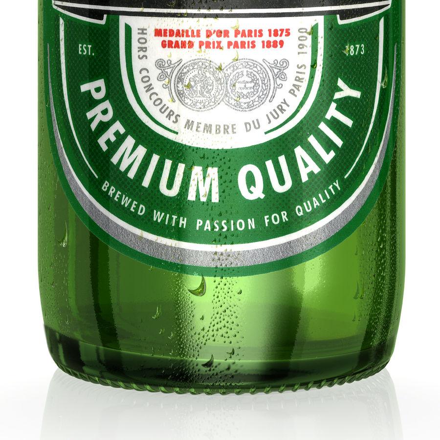 Heineken Bottle royalty-free 3d model - Preview no. 5