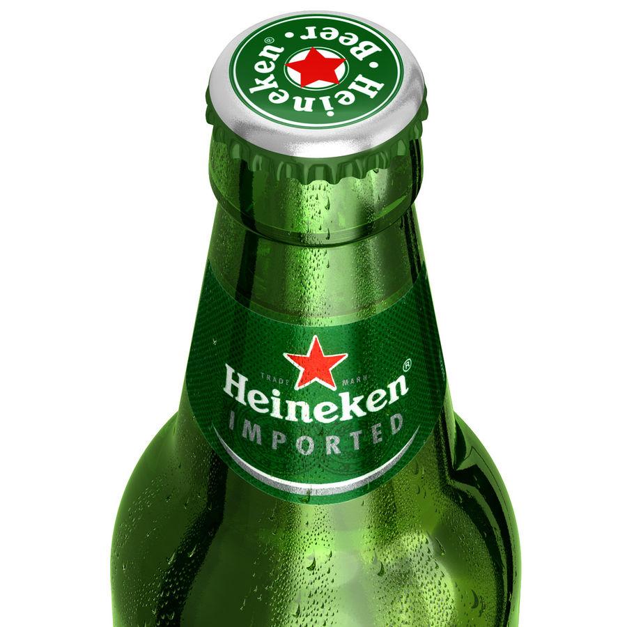 Heineken Bottle royalty-free 3d model - Preview no. 8