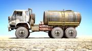 ESKİ Kamaz Tankeri 3d model