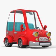 cartoon car 4 3d model