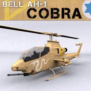 Israeli Bell AH-1 Cobra Tzefa 3d model