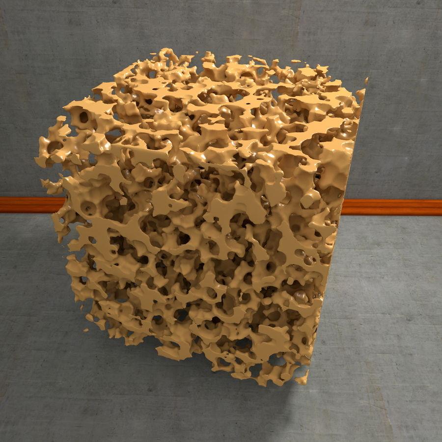Structure en os spongieux en éponge royalty-free 3d model - Preview no. 13