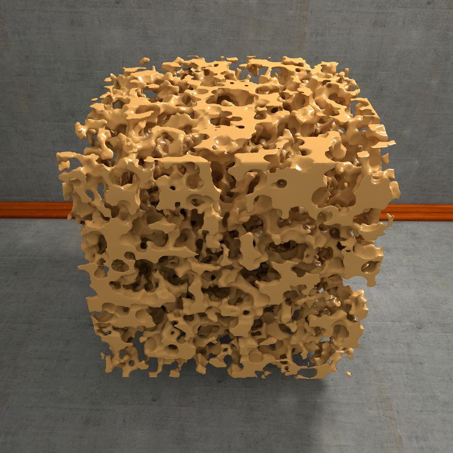 Structure en os spongieux en éponge royalty-free 3d model - Preview no. 16