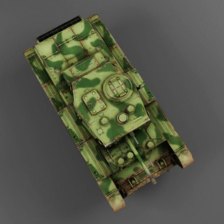 Średni czołg Cromwell royalty-free 3d model - Preview no. 10