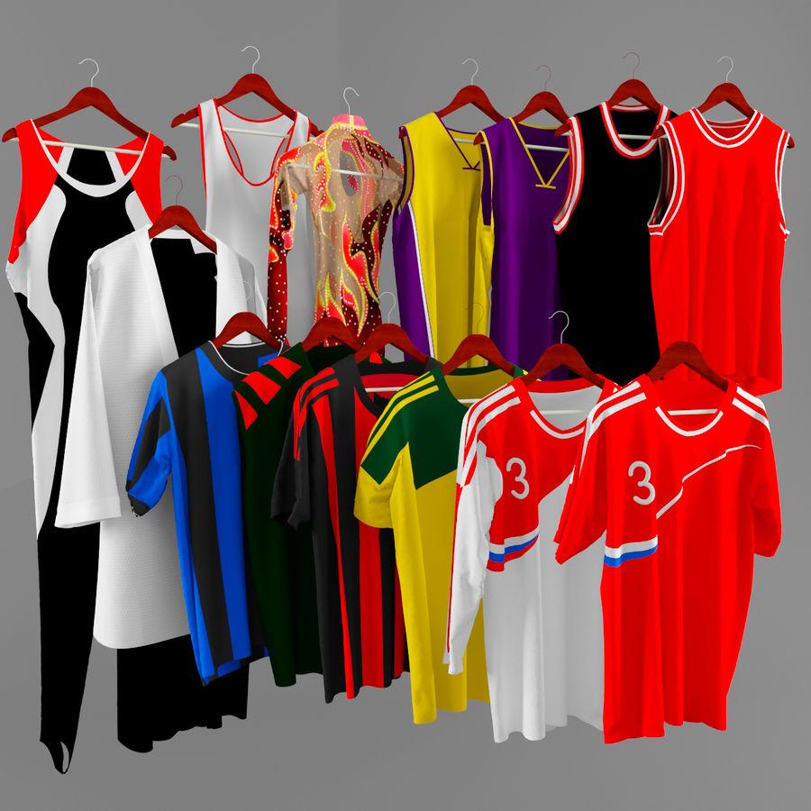 Sports shirts 3D Model $19 -  max - Free3D
