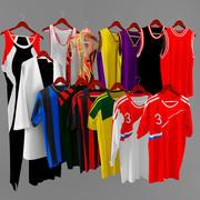 Sports shirts 3d model