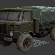 gaz truck 3d model