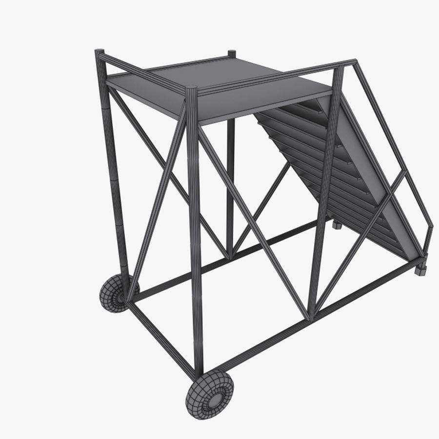 Aircraft Ladder Platform 3D Model $10