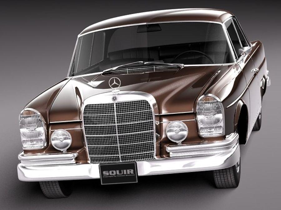 Mercedes-Benz 300SE W112 Купе royalty-free 3d model - Preview no. 2
