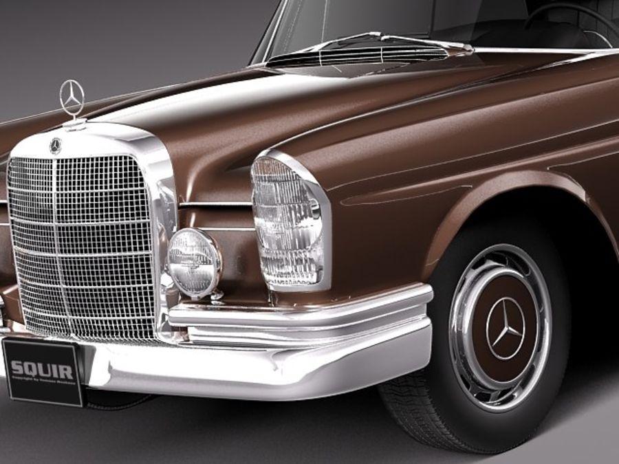 Mercedes-Benz 300SE W112 Купе royalty-free 3d model - Preview no. 3