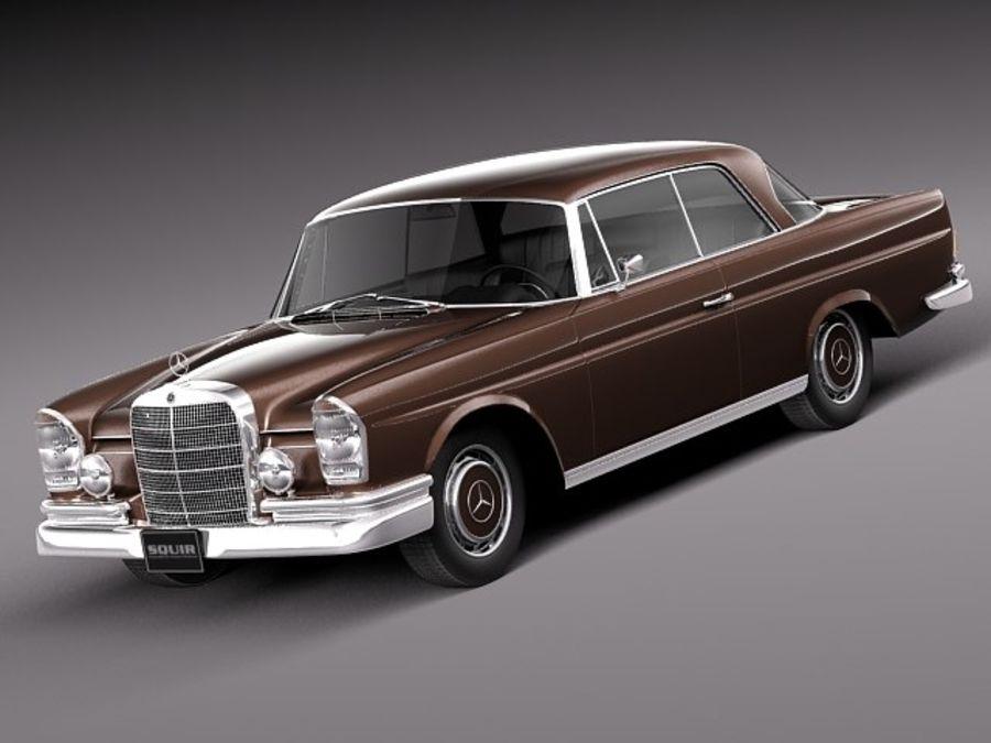 Mercedes-Benz 300SE W112 Купе royalty-free 3d model - Preview no. 1