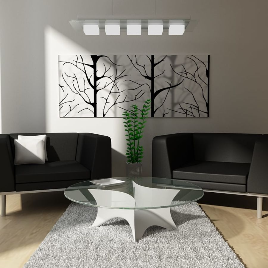 Small Living Room 3d Model 18 Obj Fbx 3ds Max Unknown Free3d