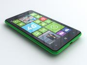 诺基亚Lumia 625 3d model