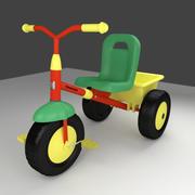 Trycykl 3d model