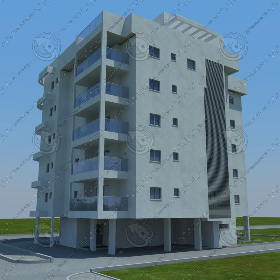 Gebäude royalty-free 3d model - Preview no. 10