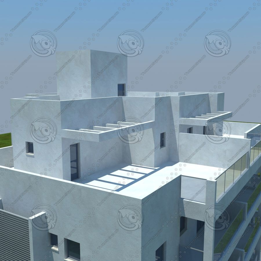 Gebäude royalty-free 3d model - Preview no. 19
