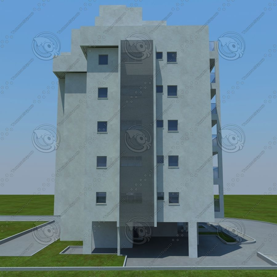 Gebäude royalty-free 3d model - Preview no. 16