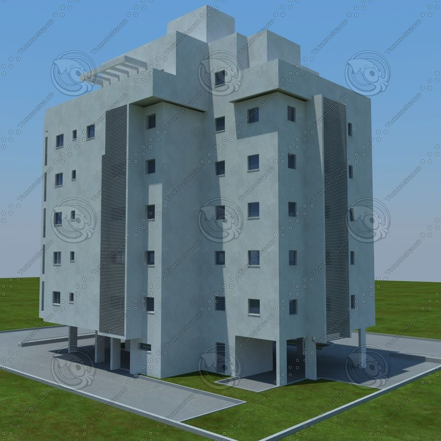 Gebäude royalty-free 3d model - Preview no. 13