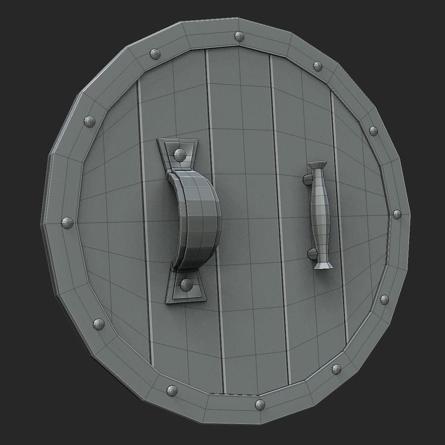 방패 royalty-free 3d model - Preview no. 5