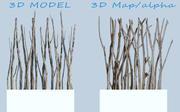 Écran de bois flotté 3d model