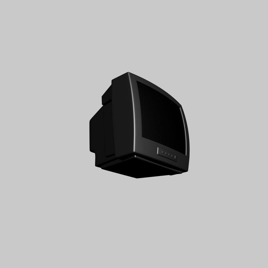 Televisión vieja royalty-free modelo 3d - Preview no. 4
