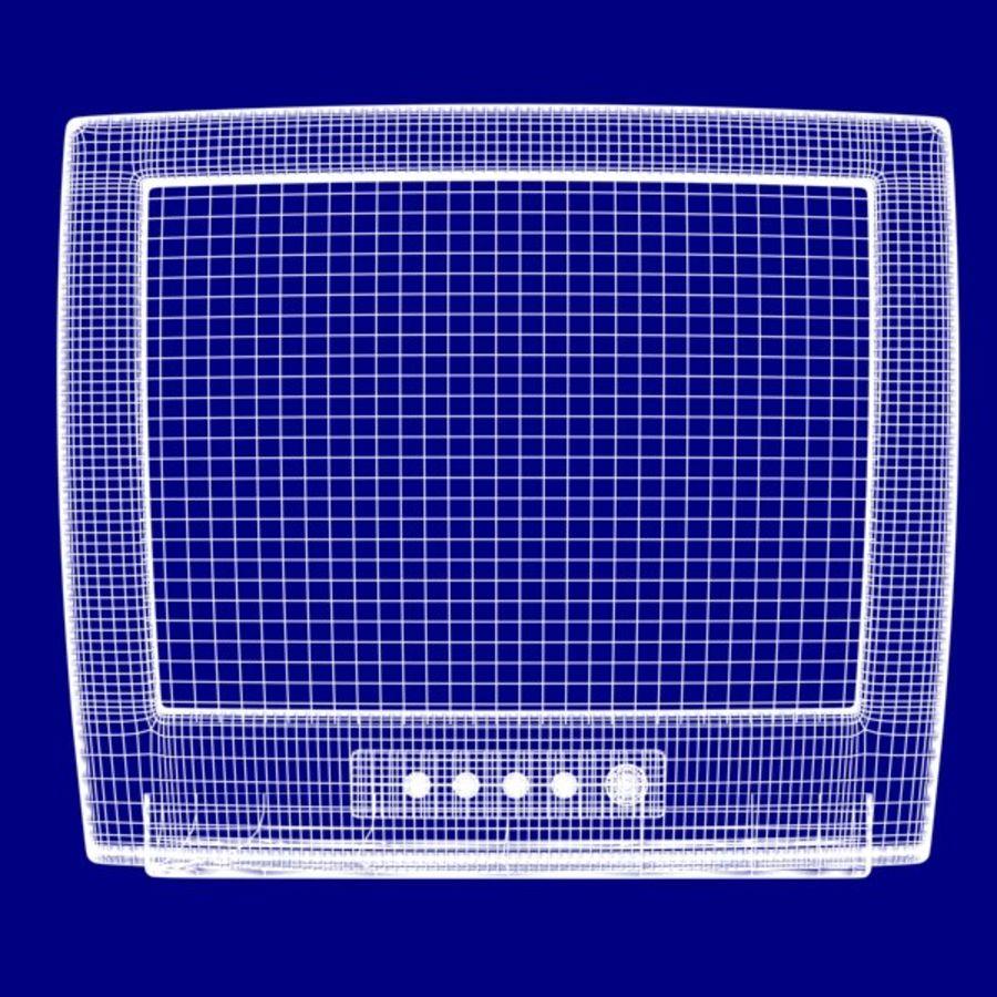 Televisión vieja royalty-free modelo 3d - Preview no. 10