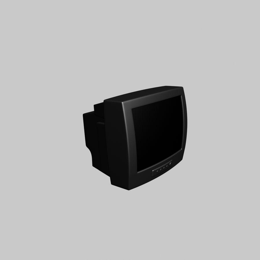 Televisión vieja royalty-free modelo 3d - Preview no. 3