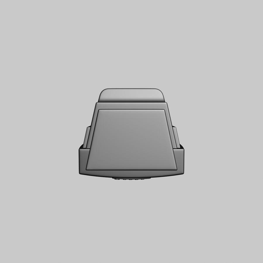 Televisión vieja royalty-free modelo 3d - Preview no. 7