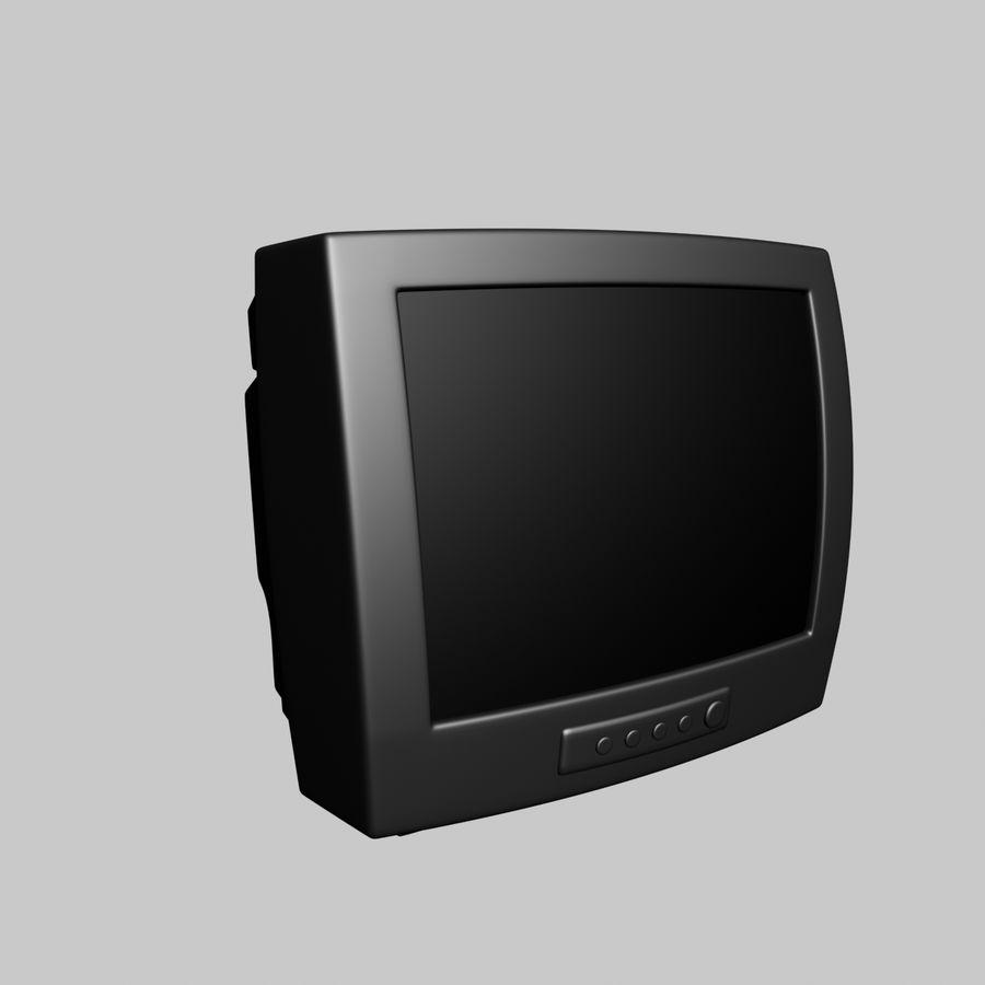 Televisión vieja royalty-free modelo 3d - Preview no. 1