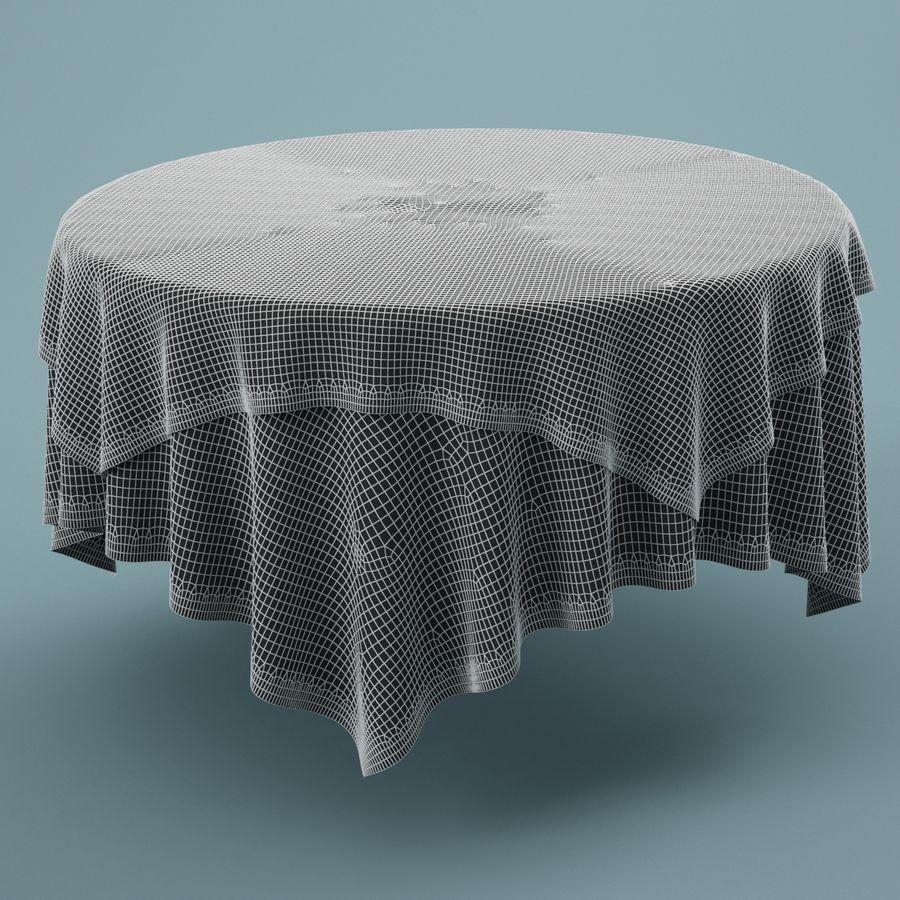 Masa örtüsü 02 royalty-free 3d model - Preview no. 5