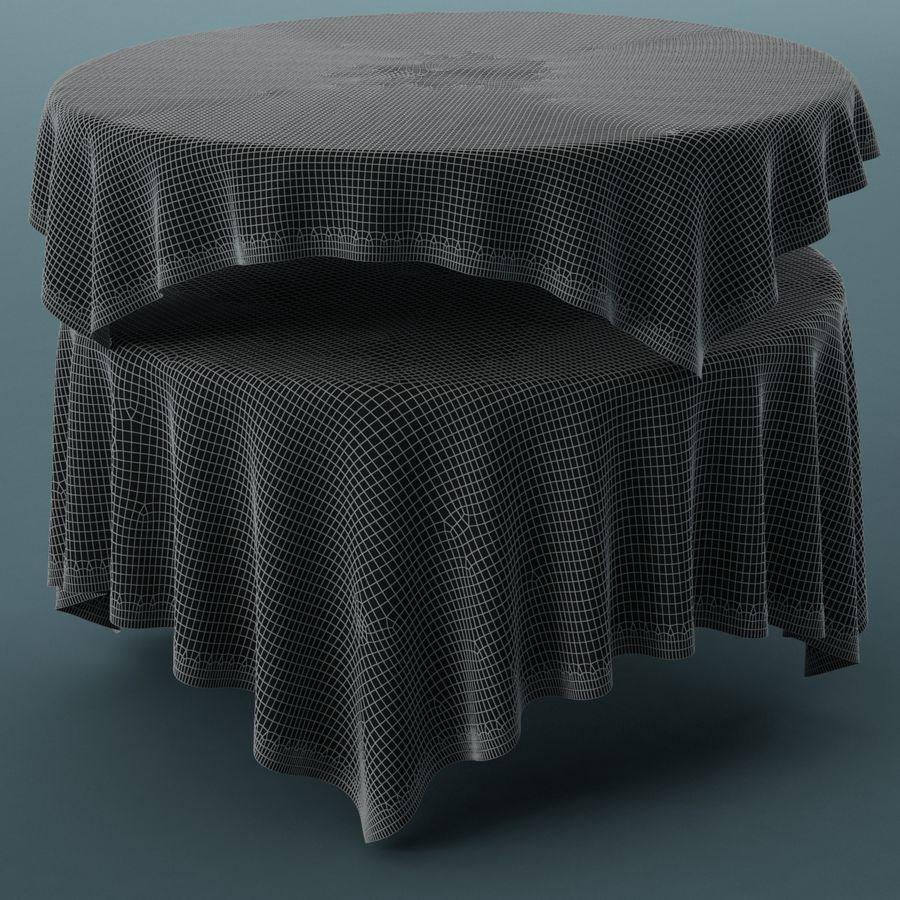 Masa örtüsü 02 royalty-free 3d model - Preview no. 6