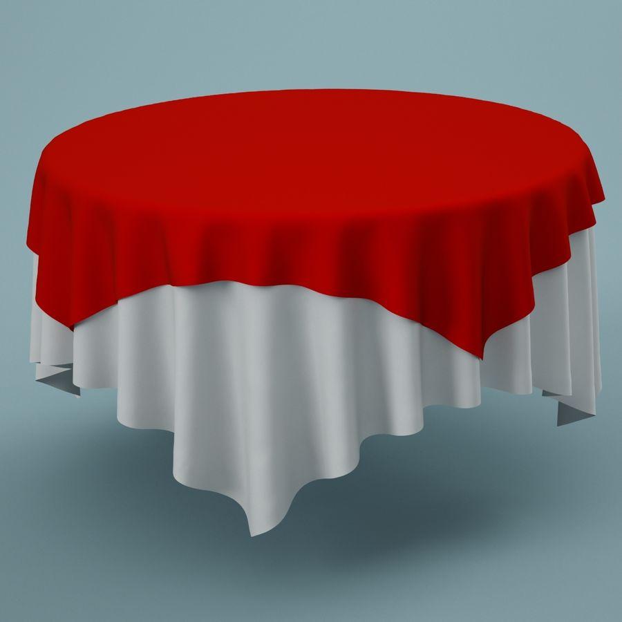 Masa örtüsü 02 royalty-free 3d model - Preview no. 1