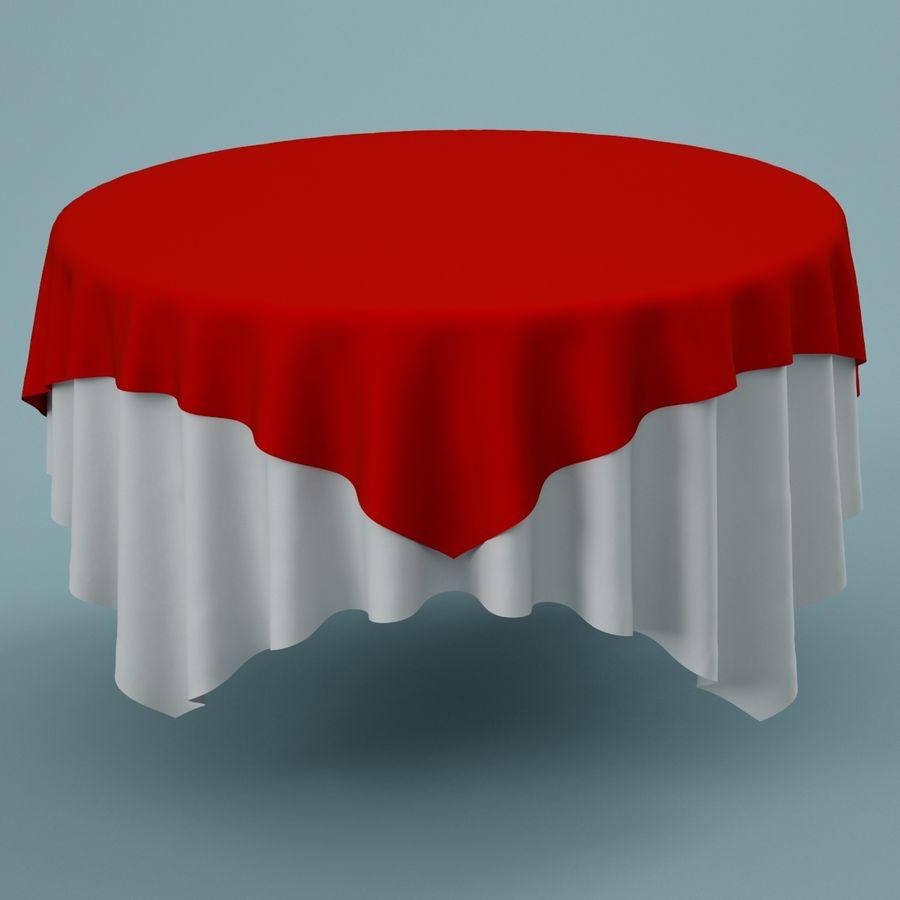 Masa örtüsü 02 royalty-free 3d model - Preview no. 2
