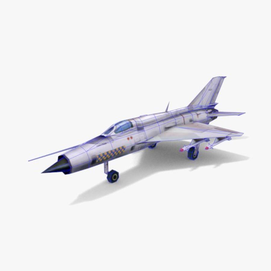 미그 -21 royalty-free 3d model - Preview no. 5