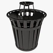 スタジアムゴミ箱 3d model