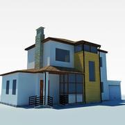 低聚小屋3 3d model