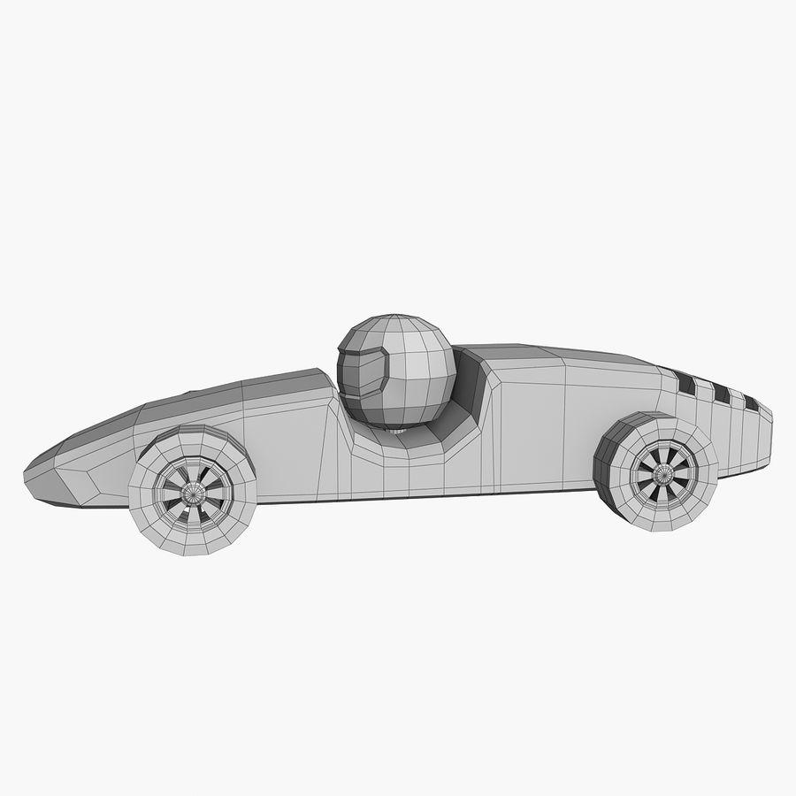 Carros de corrida royalty-free 3d model - Preview no. 7