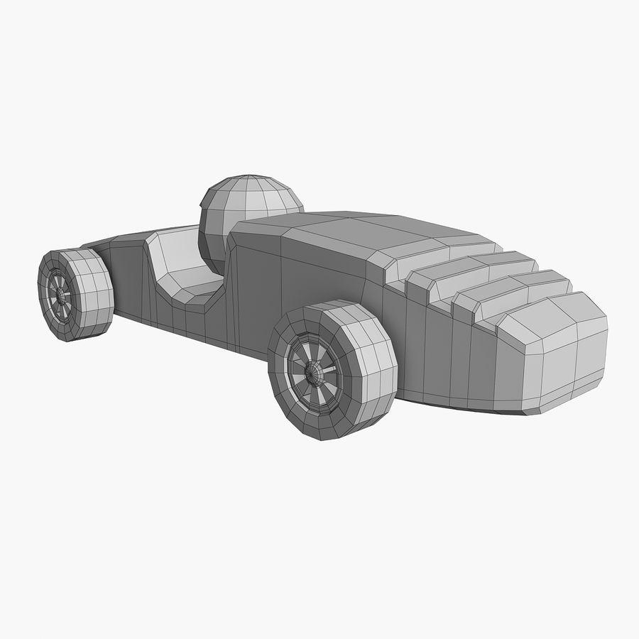 Carros de corrida royalty-free 3d model - Preview no. 9