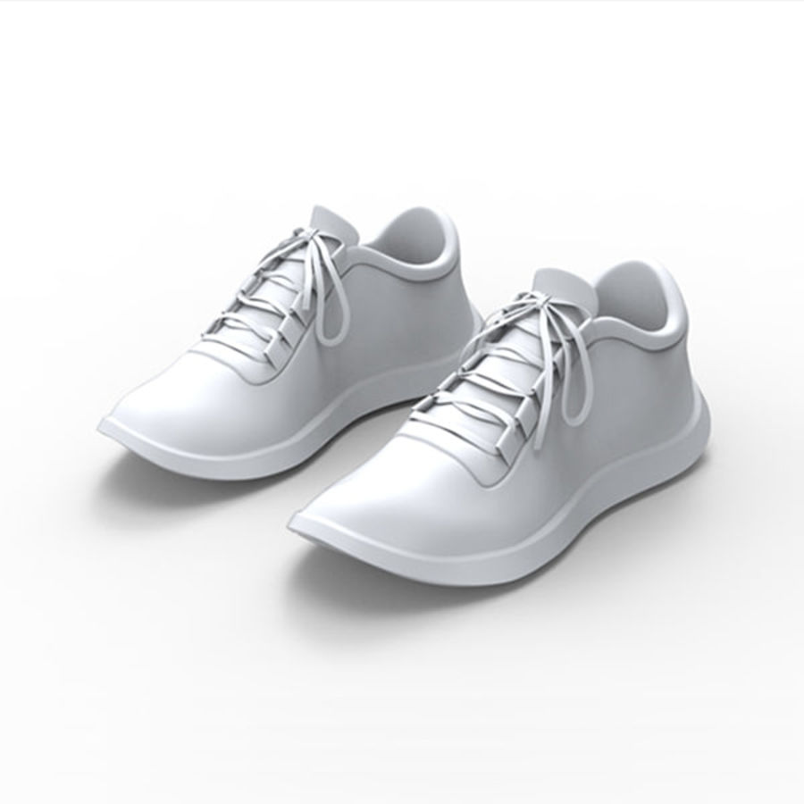 Sports shoe royalty-free 3d model - Preview no. 1