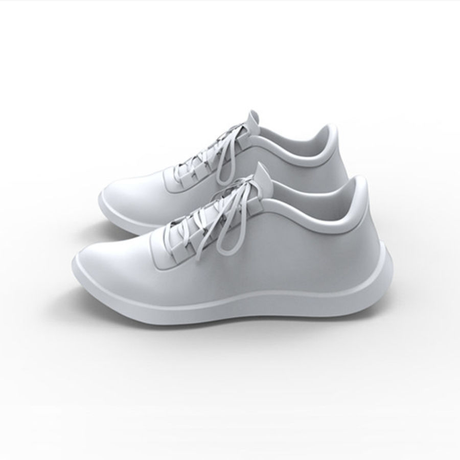 Sports shoe royalty-free 3d model - Preview no. 2
