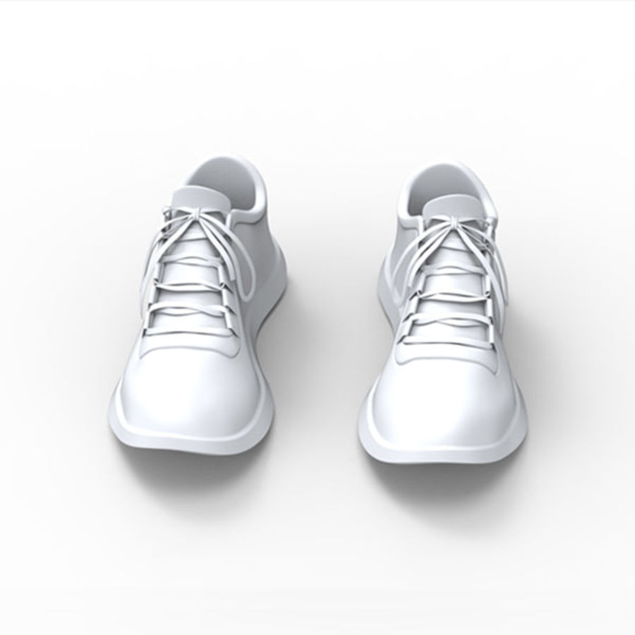 Sports shoe royalty-free 3d model - Preview no. 3
