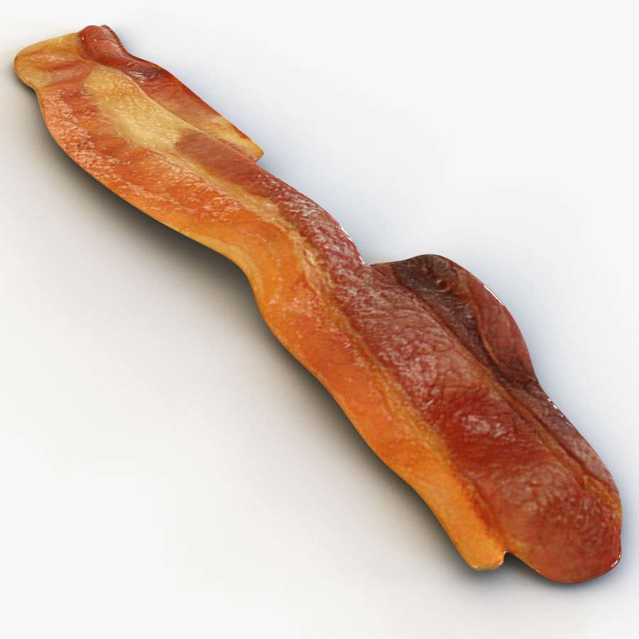 Bacon royalty-free 3d model - Preview no. 2
