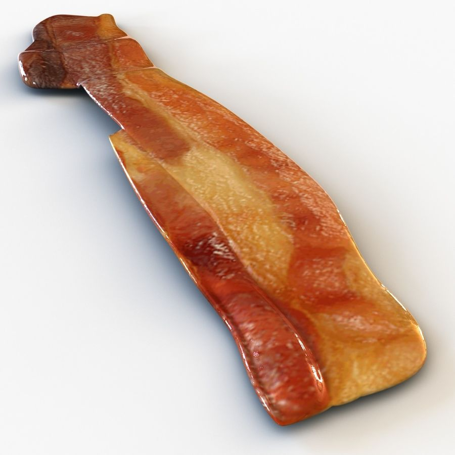 Bacon royalty-free 3d model - Preview no. 6