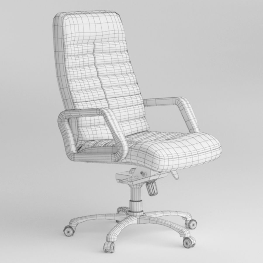 Office Chair royalty-free 3d model - Preview no. 7