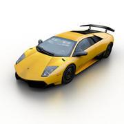 Lamborghini Murcielago LP670-4 SV 2010 3d model