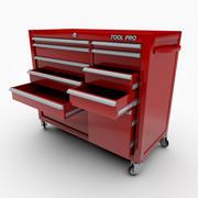Coffre à outils mécanique 3d model