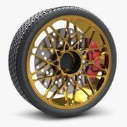 Lamborgini Wheel 3d model