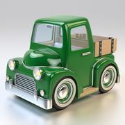 Cartoon Farm Pickup Truck 3d model